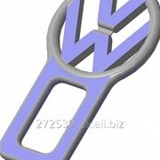 Изготовление заглушек ремней безопасности с логотипом фото