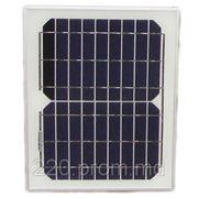 Солнечная панель монокристаллическая 10Вт фото