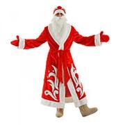 Костюм карнавальный Деда Мороза, р-р 52-54, рост 180 см фото