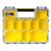 Органайзер Stanley FatMax Shallow Pro Metal Latch 44,6 x 11,6 x 35,7 см, влагостойкий, модульный 1-97-518 фото