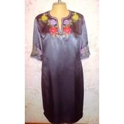 Пошив платья , блузки с дизайнерской вышивкой Киев фото