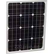 Солнечная панель монокристаллическая 50Вт фото