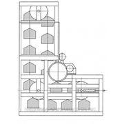 Склад-стеллаж конвейерный фото
