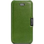 Чехол книжка iCarer Luxury Series (side-open) для iPhone 5C green (зеленый) фото
