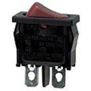 R612-BROT выключатель ON-OFF 250В 6A красн… фото