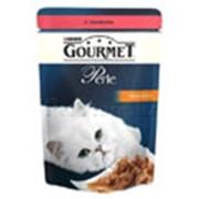 Корм для котов Gourmet Perle паучи с лососем в подливке фото
