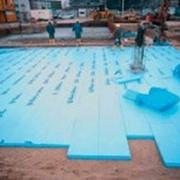 Теплоизоляционные плиты Ravatherm Truck экструд, Стайрофом, Раватерм, голубой, 1200*600, Стироформ, пенопласт экструзи фото