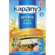 Каша Карапуз безмолочная овсяная с персиком фото