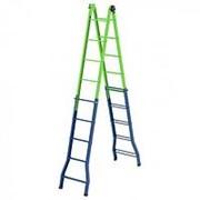 Сибртех Лестница - стремянка –трансформер, 148 см-44 см/220 см-448 см, Россия, Сибртех фото