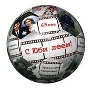 Нанесение изображений, логотипа на мячь фото