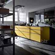 Современная кухня Artematica Vitrum , Giallo Terra фото