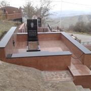 Надгробие фото