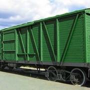Перевозка грузов по железной дороге фото