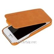 Чехол Borofone for iPhone 5/5S General Flip Leather case Orange (BI-L028-O), код 56076 фото