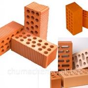 Кирпич керамический строительный одинарный фото