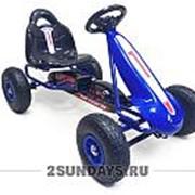 Детский веломобиль Top Racer 64 синий фото