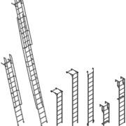 Лестница алюминиевая фото