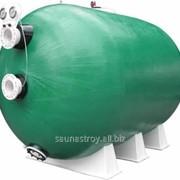 Фильтр с клапаном бабочка, D1400*L3000, 110 м3/ч фото