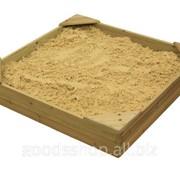Деревянная песочница Песочница -9 фото