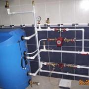 Монтаж сантехнических систем фото