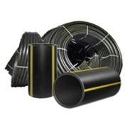 Трубы газовые из полиэтилена ПЭ 80, SDR 17,6, PN 7,5, Dn-280, ст-15,9 фото