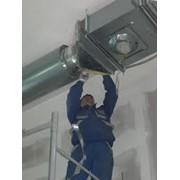 Монтаж систем вентиляции, Киев фото
