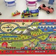 Коврик в детскую комнату Confetti Railway 133*190 см фото