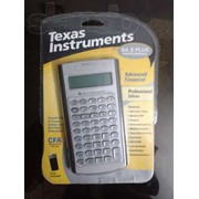 Калькулятор Texas Instruments BA Plus Professional фото