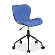 Кресло компьютерное Signal RINO (черный/синий) фото