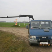 Грузоперевозки гидроманипулятором Ивеко 3512 2 тонны фото