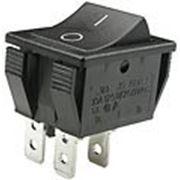 R515BBBT выключатель 220В 16А черн. (JS608A,SWR74). фото