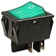 R525-BBOT выключатель 2хON-ON 250В 16А черн. (B1024,SWR74). фото
