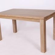 Обеденный стол из массива дуба фото