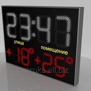 Часы-термометры фото