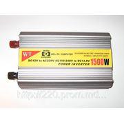 Инвертор 12/220 WT- C1500 - 1500Вт фото