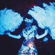 Световое неоновое бурлеск шоу Sexy Silk  фото