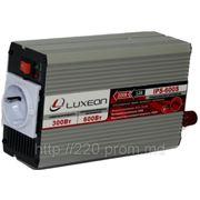 Инвертор 12/220 LUXEON IPS-600S синусоидный фото