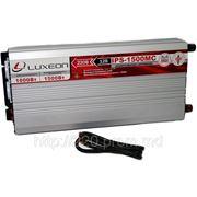 Интвертор 12/220 LUXEON IPS - 1500MC - 1000Вт с функцией подзарядки аккумулятора. фото