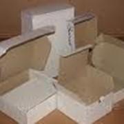 Ящики и коробки из прессованного картона фото