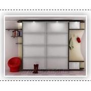 Шкаф-купе с матовыми стеклами фото
