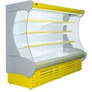 Витрины холодильные пристенные (горки) ВХС(пр)- 'Индиана' -1,3длина - 1370, глубина - 1100, высота - 2100Т +1...+10кол-во полок 4выст. площадь 3,75 м2 фото