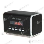 Мощный мини динамик «Mini BOSS», MP3-плеер, FM-радио, разъем под Micro SD TF карту фото