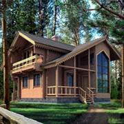 Проект деревянного дома 10-33 фото