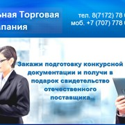 Подготовка пакета документов на тендер г.Усть-Каменогрск фото