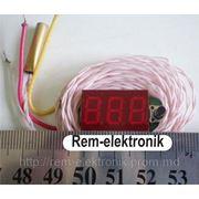 Тахометр-вольтметр-термометр ТВТ-036-3 фото
