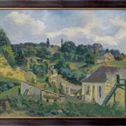 Картина Извилистая дорога, 1877, Гийомен, Арманд фото