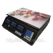 Электронные весы со счетчиком цены КР-100 40 кг фото