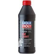 Синтетическое масло для вилок и амортизаторов Liqui Moly Motorbike Fork Oil Light 5W 1л фото