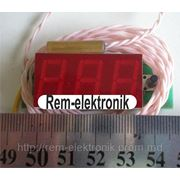 Тахометр-вольтметр-термометр ТВТ-056-3 фото