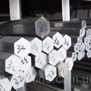 Шестигранные алюминиевые прутки фото